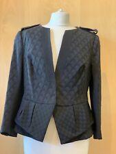 Karen Millen Fitted Jacket Size 14 Black