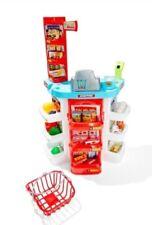 Kids Toy Supermarket Playset Educational Pretend Play Imagination Cash Register