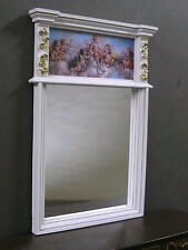 TRUMEAU - MIRROR ~ Handcrafted -- Jim Coates ~ Dollhouse Miniature ~ 1:12 scale