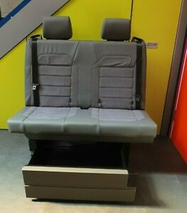 New VW California Ocean rail seat / bed with isofix rock and roll bed