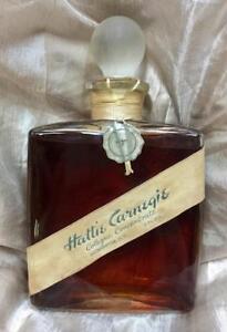 8 Fl oz Sealed Hattie Carnegie #7 Cologne Bottle w Stopper in Pristine Cond.