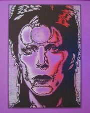 DAVID BOWIE ZIGGY STARDUST Limited edition print #9 MATT DYE BLUNT GRAFFIX