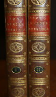 1795 Winter Evenings or Lucubrations on Life and Letters Vicesimus KNOX 2 Vols