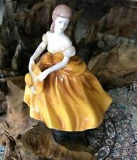 Antique Original Yellow Decorative Coalport Porcelain & China