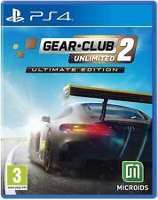 Gear Club Unlimited 2-Ultimate Edition (ps4) Vorbestellung freigegeben 30/11/21