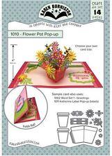KB Riley- Karen Burniston Cutting Die Set ~ FLOWER POT POP-UP  ~ 3D Cards ~1010
