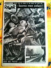 RADAR 25/10/1953  Sérézin écrasé par un Wagon