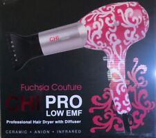 CHI PRO Low EMF Fuchsia Couture Professional Hair Dryer NIB