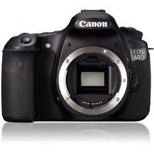 Near Mint! Canon EOS 60D 18 MP CMOS Digital SLR Body - 1 year warranty