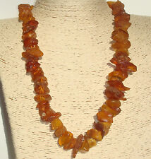 """Authentic Baltic Amber Necklace 24 """" ( 61 cm )"""
