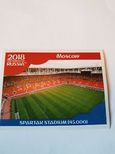 Panini 2018 Copa del Mundo Estadio Pegatina número 11