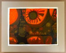 David Weidman Bridge II Original Mid-Century Modern Signed Serigraph
