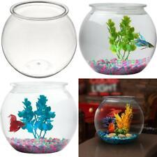 1 Gall Fish Bowl Aquariums Decor Weddings Crafting Potpourri Glass Beads Flowers