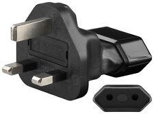 Euro Netzadapter - > UK 3-Pin-Stecker (Typ G, BS 1363)