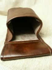 Brown real leather Cartridge pouch holds 50, 12g shotgun cartridges