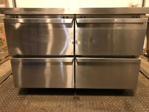 "Continental Refrigeration SWF48 48"" Undercounter Freezer w/ Four Drawers"
