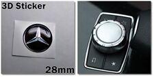 Mercedes-Benz 3D-Sticker Logo Multimedia buttons 28mm