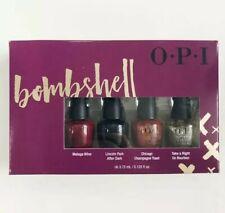[Opi] Nail Polish Lacquer Bombshell Limited Edition 4pcs Set New