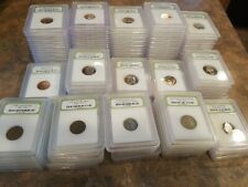Estate Sale Huge Collection Slabbed U.S. Coins BU PROOF Old Commemorative Lot