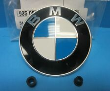GENUINE BMW Trunk Hatch Lid Emblem Roundel OEM# 51148219237 with Grommets 2.50""