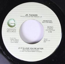 Rock Promo 45 Jr. Tucker - If It'S Love You'Re After / If It'S Love You'Re After
