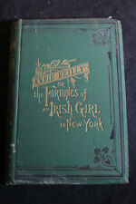 1873 *FIRST* Annie Reilly: The Fortunes of an Irish Girl in New York by Mcelgun