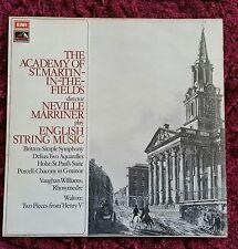 ASD 2831 Neville Marriner / English String Music, Rare HMV FIRST EDITION
