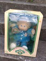 New Vintage Coleco 1985 Cabbage Patch Kids CPK Bernard Jerrie Boy Doll *RARE*