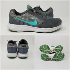 NIKE Revolution 3 Athletic Running Shoes Men's Blue Grey Tennis Sneaker Size 8