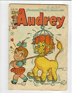 🎈 Little Audrey No.28 Feb.1953 Early Harvey Issue 10c but see description