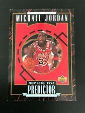 1995-96 Upper Deck Michael Jordan Predictor Player of the Week H1
