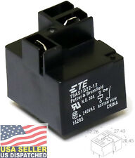 1pc  TE Connectivity T9AS1D22-12 30A relay 240VAC 30 Amps 240 volts, SPST