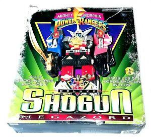 1995 Bandai Toys Power Rangers ~ Deluxe ~ SHOGUN MEGAZORD ~ Boxed
