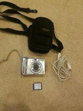 Canon PowerShot A550 7.1 Mega Pixels 4x Optical Zoom Digital Camera - Silver
