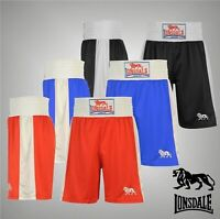 Mens Lonsdale Training Boxing Shorts Sports Pants Bottoms Sizes S-XXL
