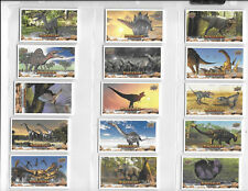 Upper Deck Dinosaurs Canvas Mini Card $1.50 Each Complete Your Set