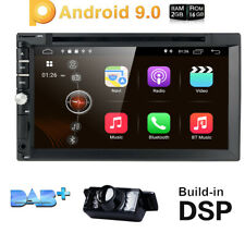 7'' inch Android 9.0 4G WiFi Double 2DIN Car Radio Stereo DVD Player GPS+HD Cam