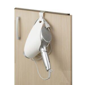 Formosa Grocery Hairdryer Holder Shelf Hanging Storage Appliance White(No Strip)