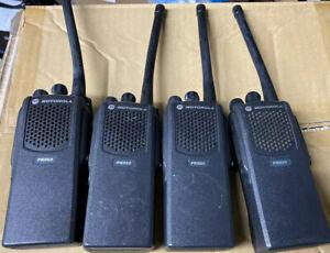 Lot of (4)Motorola PR860 VHF 136-174MHz 16Ch 5watts Way Radio AAH45KDC9AA3AN