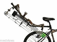 NEW Pacific Outdoors Bicycle BOW & ARROW LOCKER Bike ATV UTV Bowhunting Carrier!