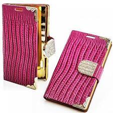 Book Style bolso Sony Ericsson Xperia Arc/Arc S brillo móvil, estuche, protección funda con diamantes de imitación