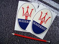Maserati Stickers 14cm F1 Le Mans Mille Miglia Ferrari Supercar  Classic Car Gt