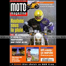 MOTO MAGAZINE N°134 SUZUKI TL 1000 S APRILIA STARCK TRIUMPH DAYTONA 955 BMW K100