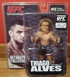 UFC Thiago Alves Figure Ultimate Collector Round 5 2011 Brand New & Sealed