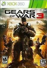 Gears of War 3 Xbox 360 CIB Excellent