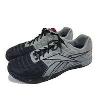 Reebok Crossfit Nano 3.0 CF74 Mens Size 12 Training Shoes V53238 Gray Black