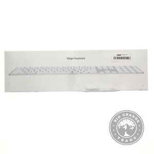 NEW Apple Magic Wireless Keyboard with Numeric Keypad in Silver - US English