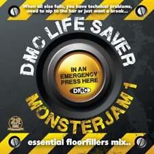 DMC Life Saver Monsterjam Vol 1 Continuous Mixed DJ CD Guy Garrett