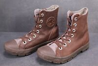 CB119 Converse All Star CT Outsider Boots High-Top Sneaker Gr. 40,5 Leder braun
