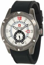 Swiss Military Calibre Men's 06-4R5-04-001R Revolution IP Grey Sub-seconds Watch